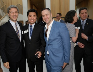 Future of Cities event in Beverly Hills, Calif., June 2, 2015,  Michael Govan, David Ryu (Councilman-Elect). Photo by Jonathan Alcorn